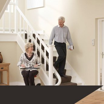 Stairlifts for sale, along with stairlift installation from ALS