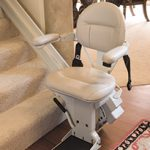 Straight heavy duty stairlift optional extras