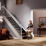 straight stairlift from UK Stairlift